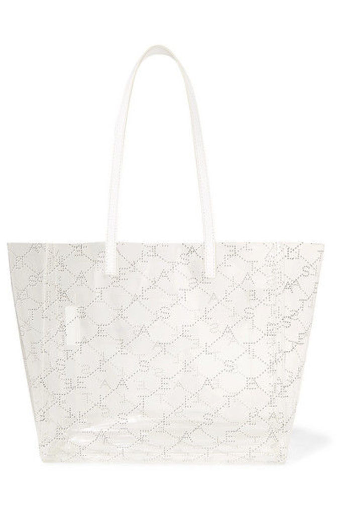 Stella McCartney - Faux Leather-trimmed Printed Pu Tote - White