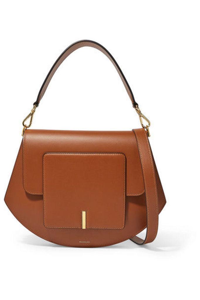 Wandler - Al Leather Shoulder Bag - Tan