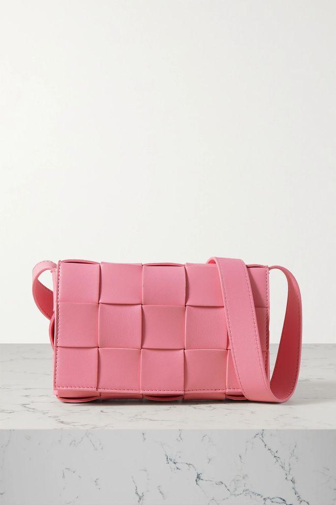 Sacai - Paneled Fringed Canvas-trimmed Tweed And Shell Jacket - White