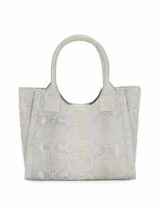 Python Leather Tote