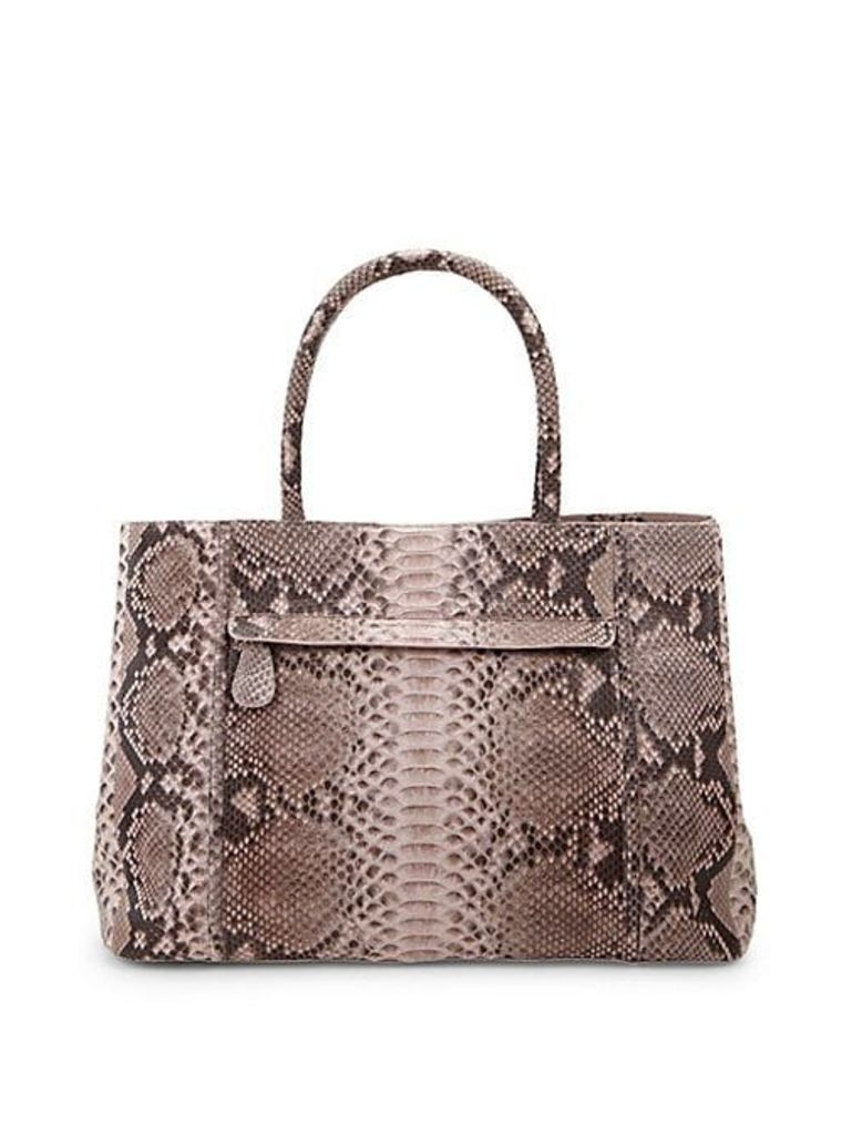 Classic Python Large Tote