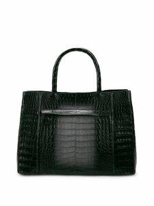 Crocodile Leather Tote Bag