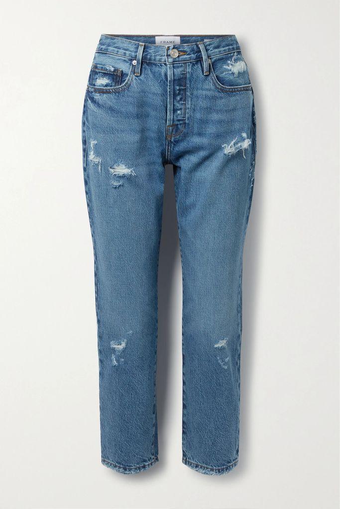Miguelina - Georgia Crocheted Cotton-voile Midi Skirt - Violet