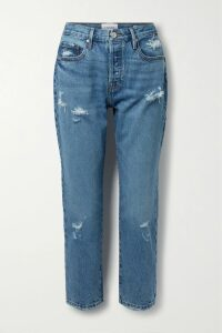Miguelina - Georgia Crocheted Cotton-voile Midi Skirt - Violet