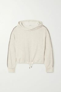 Miguelina - Jackie Floral-print Linen Midi Skirt - Blush