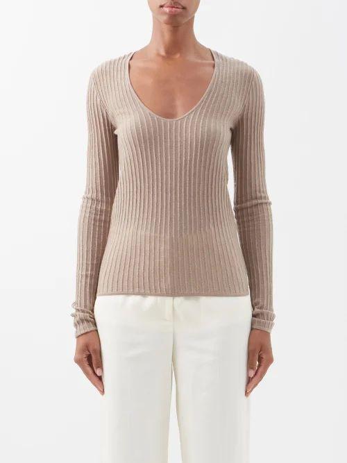 Emilio De La Morena - Coretta Ruffled Cocktail Dress - Womens - Black