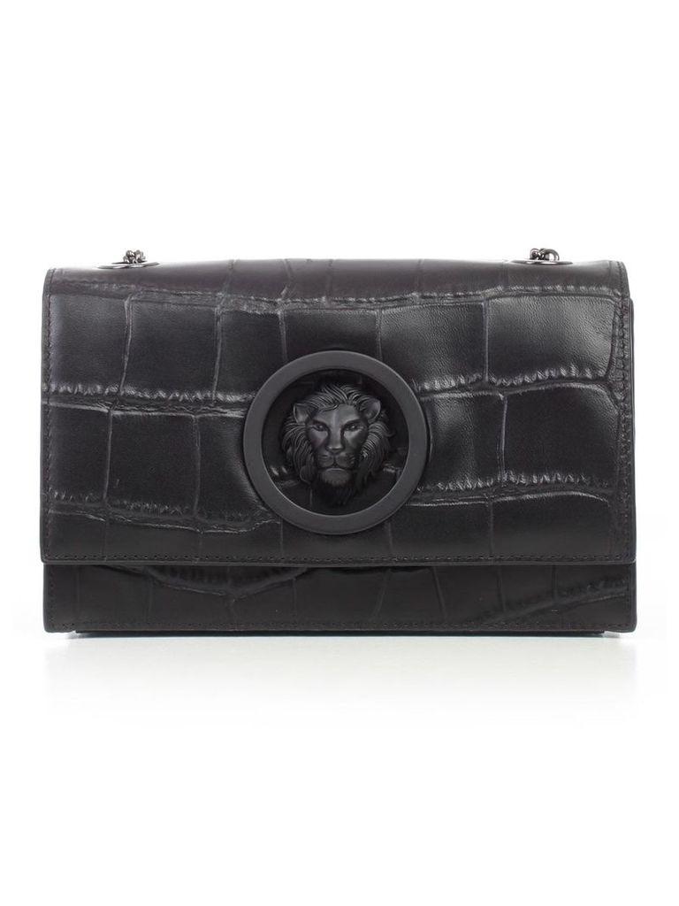 Versus Versace Lion Embossed Shoulder Bag