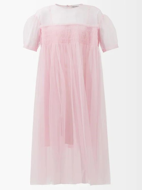Burberry - Cinderford Woollen Twill Coat - Womens - Beige