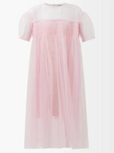 Burberry - Cinderford Woollen Twill Coat - Womens - Beige