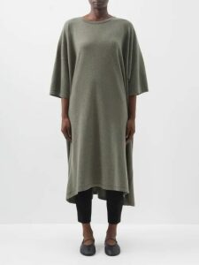 Burberry - Theydon Double Breasted Wool Blend Coat - Womens - Camel