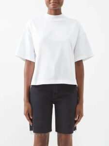 Giambattista Valli - Floral Embellished Single Breasted Tweed Coat - Womens - Burgundy Multi
