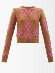 Isabel Marant Étoile - Gimi Oversized Wool Blend Coat - Womens - Blue