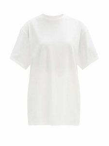 Stella Mccartney - Tie Waist Faux Fur Coat - Womens - Grey