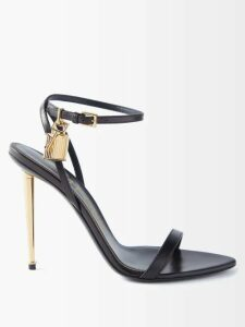 Givenchy - Zigzag Shearling Coat - Womens - Orange Multi