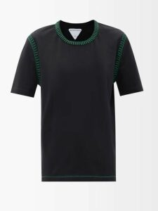Pleats Please Issey Miyake - Flame Pleated Coat - Womens - Black Blue
