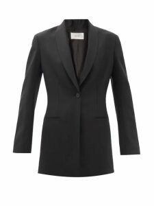 By Walid - Poppy Floral Print Cotton Coat - Womens - Blue Print