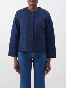 Isabel Marant Étoile - Olto Cotton Poplin Shirt - Womens - Black