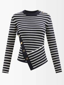 Givenchy - Silk Blend Faille Gown - Womens - Black