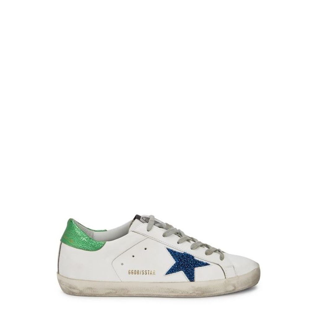 Golden Goose Deluxe Brand Superstar White Leather Trainers