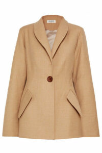 MATÉRIEL - Bar Oversized Wool-blend Blazer - Beige