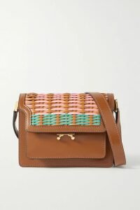 Max Mara - Double-breasted Silk-blend Lurex Blazer - Gold