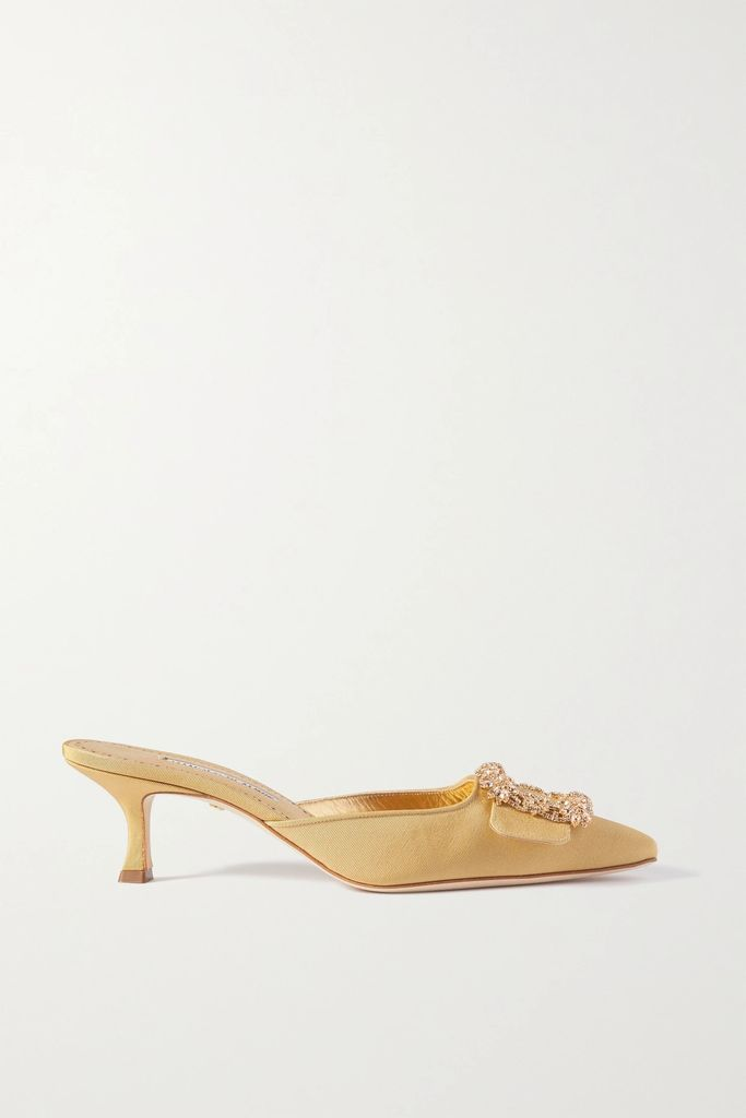 Petar Petrov - Double-breasted Checked Wool And Mohair-blend Blazer - Red