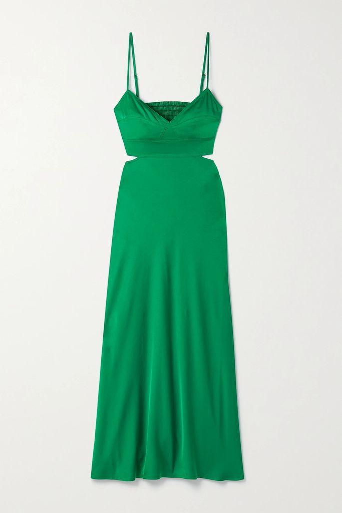 Balenciaga - Hourglass Gingham Woven Blazer - Black