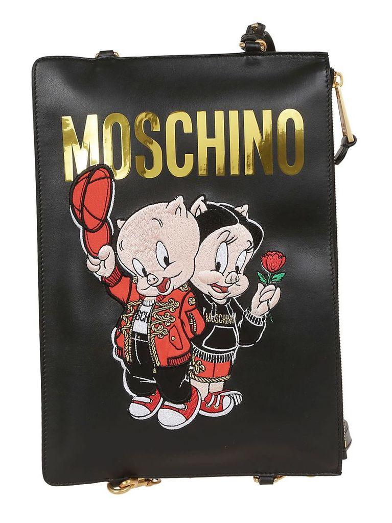 Moschino Logo Tote