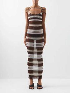 Sies Marjan - Wolf Merino Wool Roll Neck Sweater - Womens - Pink