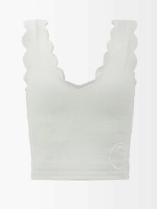 Bella Freud - Night Club Owner Rollneck Cashmere Sweater - Womens - Black Multi