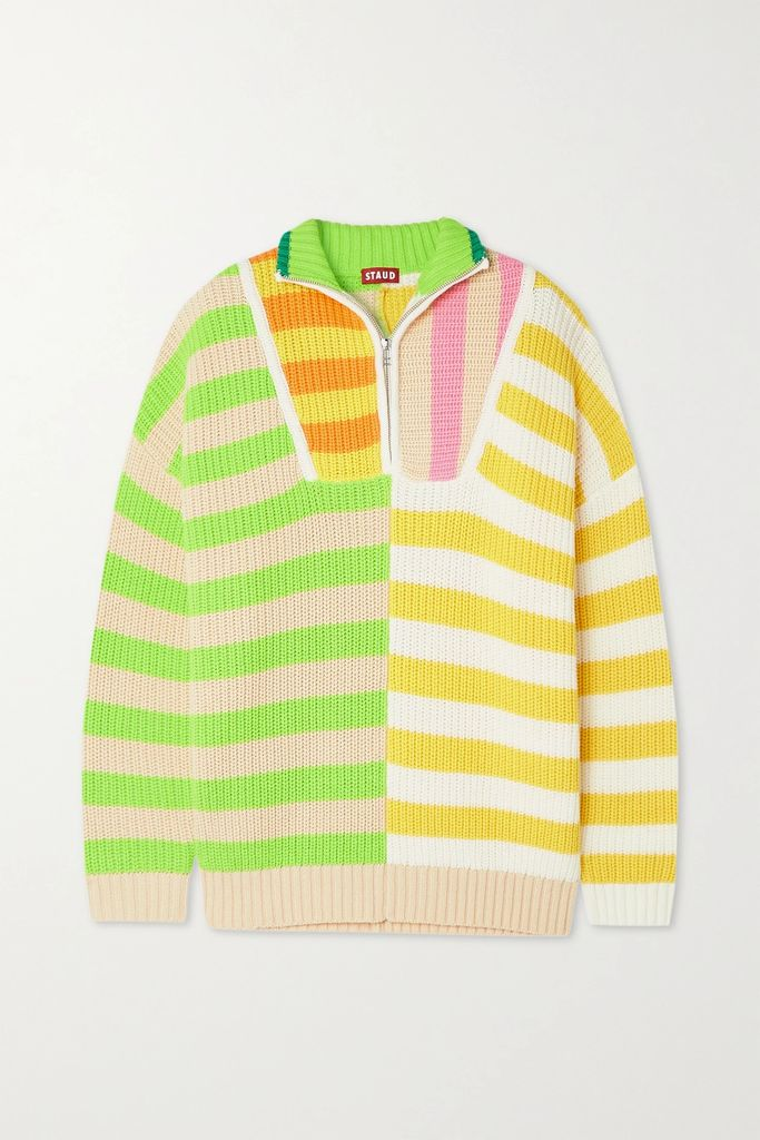 Bella Freud - Bianca Double-breasted Cotton-corduroy Blazer - Red