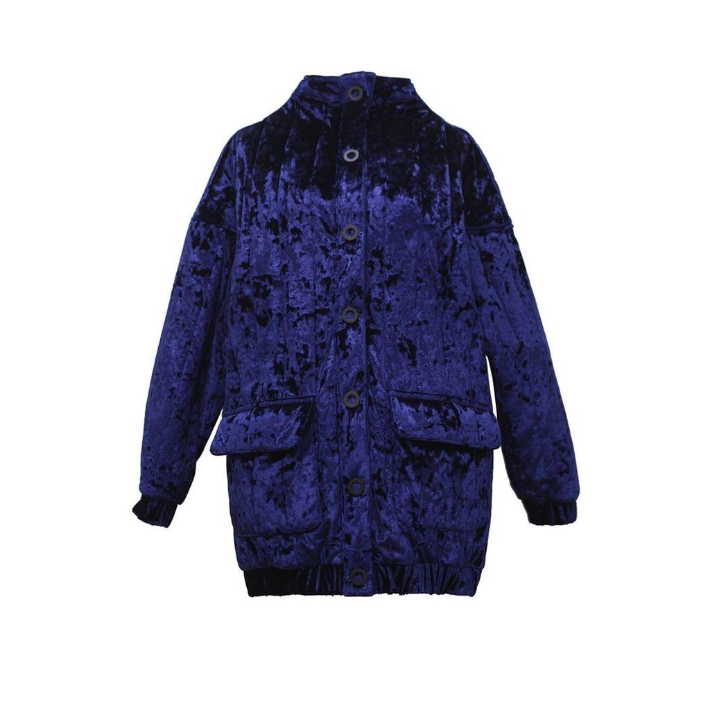 Tomcsanyi - Vera High Neck Velvet Jacket