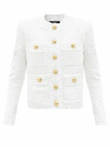 Roksanda - Tovi Metallic Striped Dress - Womens - Pink Gold