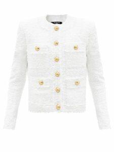 Roksanda - Tovi Metallic Striped Dress - Womens - Pink Gold