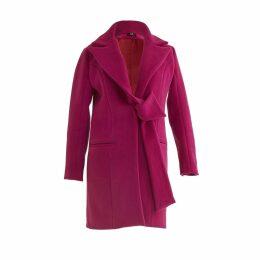 GR LONDON PARIS - Single Breasted Belted Coat Fanati-Sta
