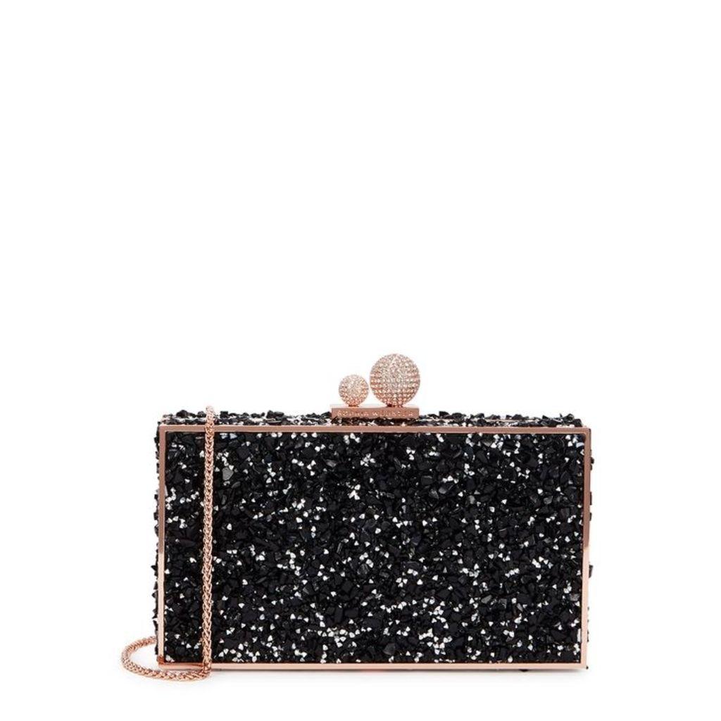 Sophia Webster Clara Crystal-embellished Box Bag