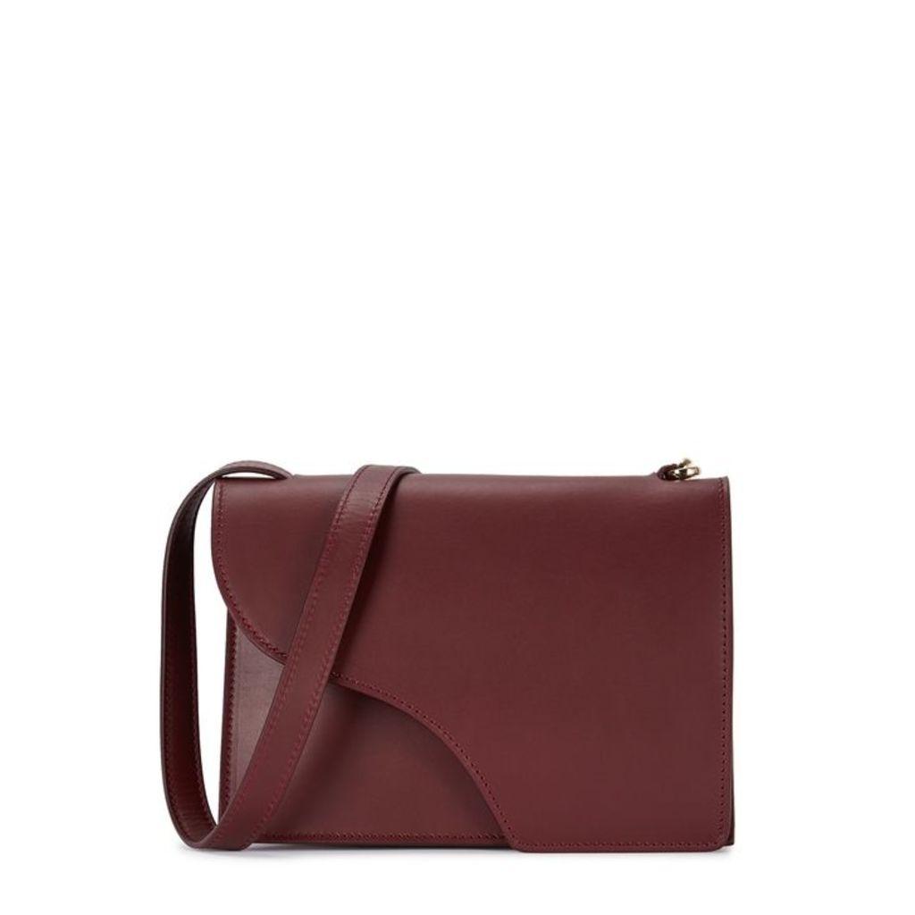 ATP Atelier Siena Burgundy Leather Cross-body Bag
