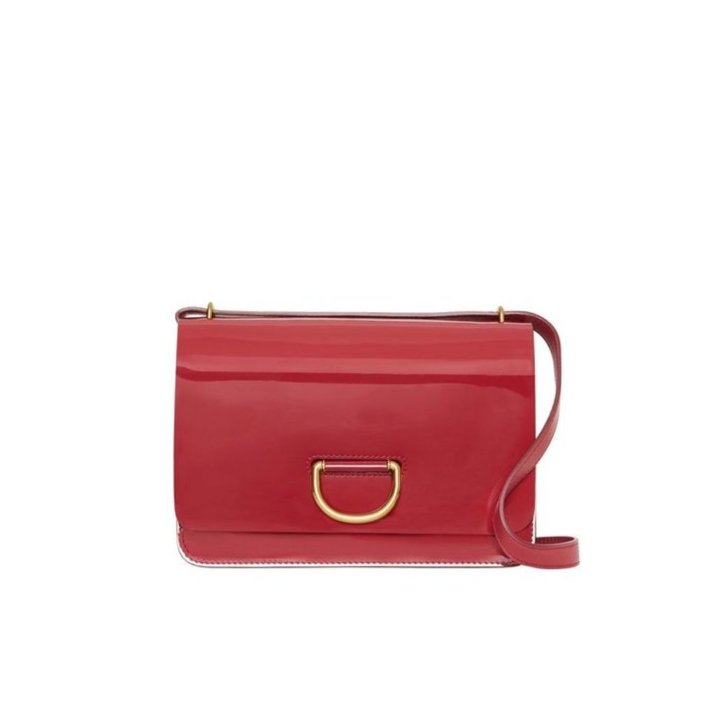 Burberry The Medium Patent Leather D-ring Bag
