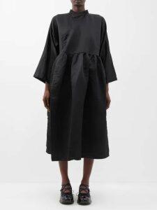 Mary Katrantzou - Lizzie Intarsia Stripe Cotton Sweater - Womens - Pink Multi
