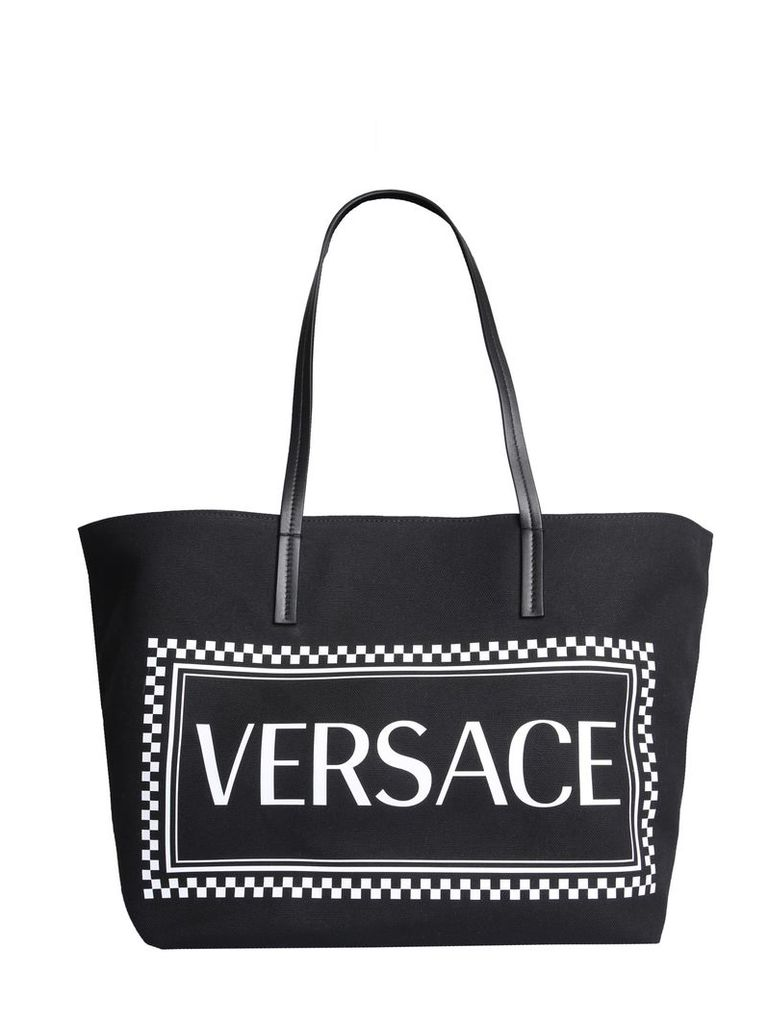 Versace Tote Bag With Logo