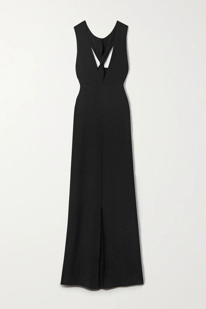 Versace - Printed Silk-charmeuse Blouse - Yellow