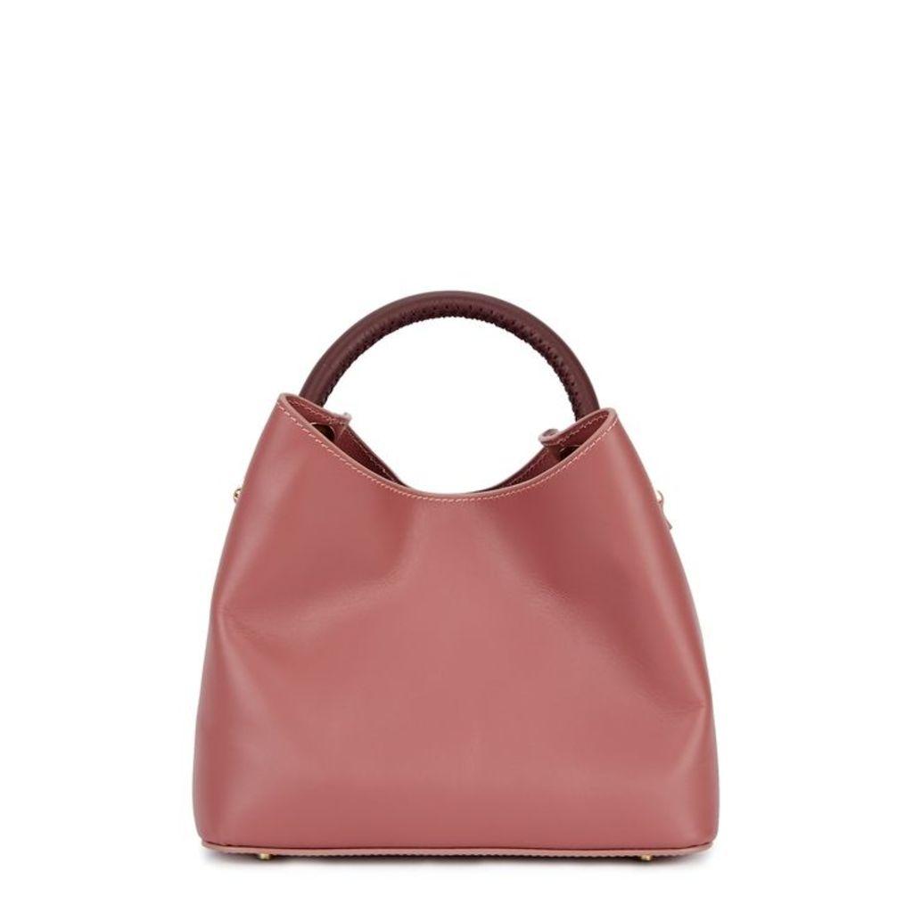 ELLEME Baozi Rose Leather Shoulder Bag