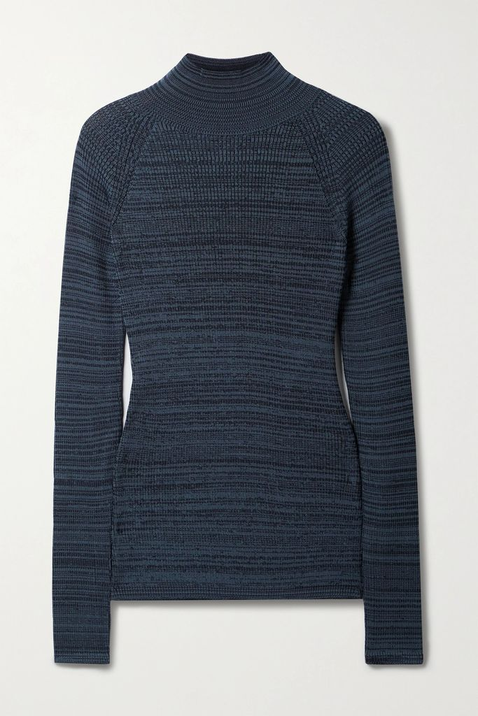 Dolce & Gabbana - Ruffled Silk-blend Chiffon Blouse - Black