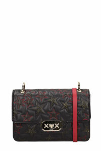 RED Valentino Black Quilted Leather Bag