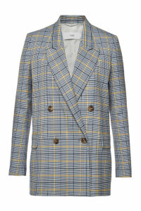 Closed Checked Blazer
