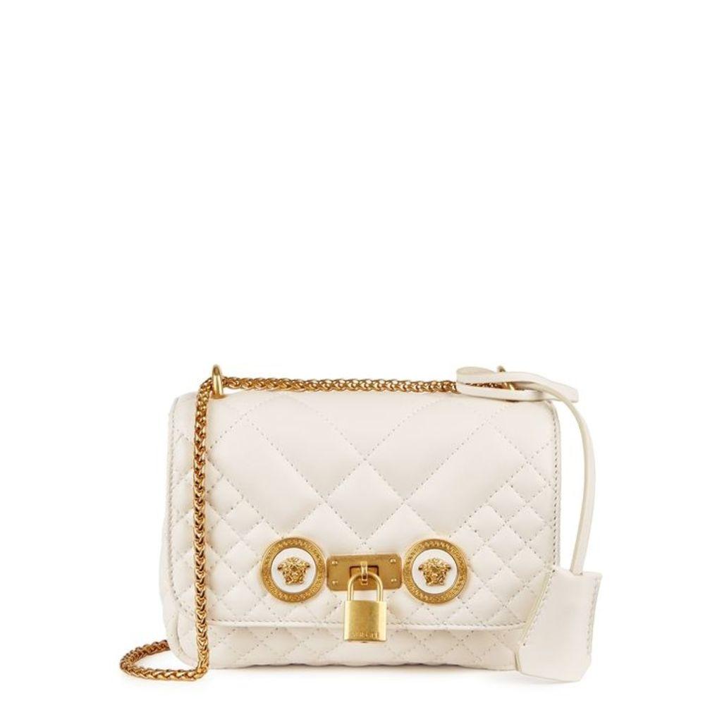 Versace Tribute Mini Leather Shoulder Bag