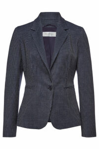 Max Mara Mosella Virgin Wool Blazer with Silk