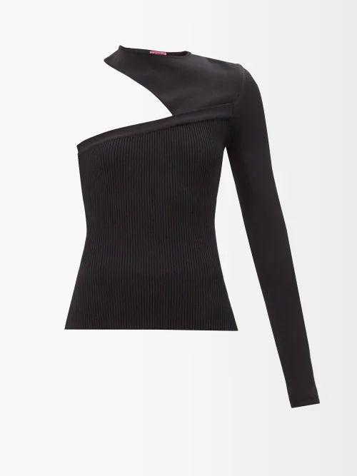 Stella Mccartney - Bias Cut Denim Dress - Womens - Denim