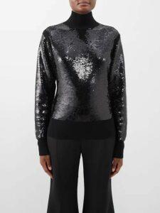 Roksanda - Essi Silk Bell Sleeved Crepe Midi Dress - Womens - Red