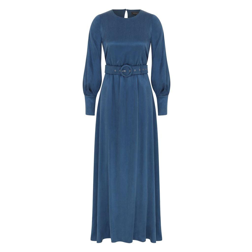 WtR - Raksha Coral Pleated Lace Silk Blouse